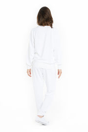 The Casey boyfriend crew in white from Lazypants - always a great buy at a reasonable price.