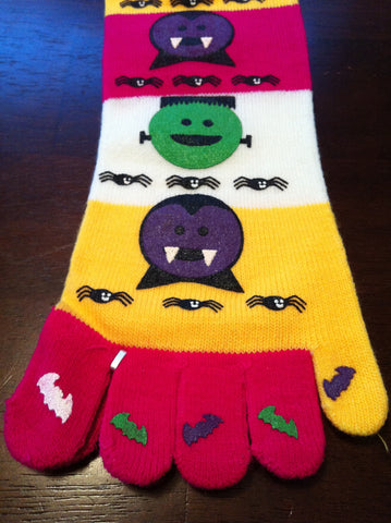 Monster Toe Socks - Carrie's Closet
