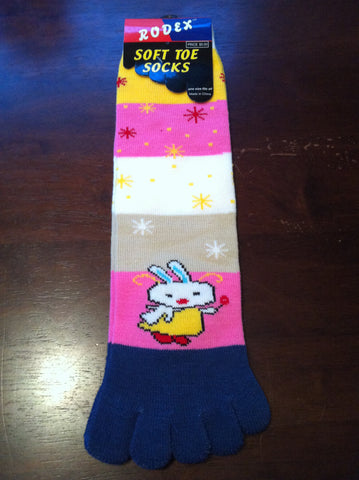 Rabbit Toe Socks - Carrie's Closet
