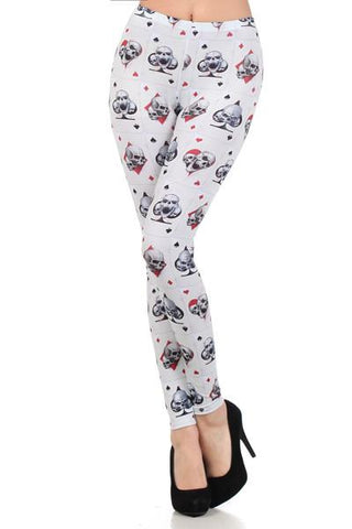 Ace of Skull Leggings - Carrie's Closet