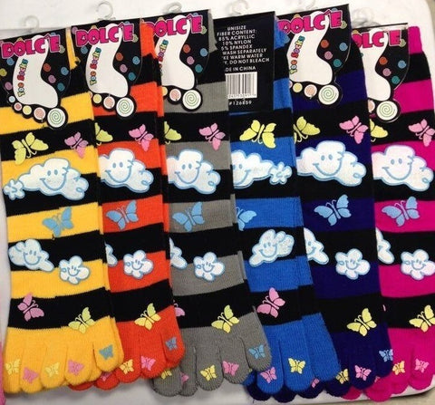 Butterfly Toe Socks