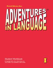 1002-1SB Adventures in Language Level I (2014 Edition) - Student Workbook