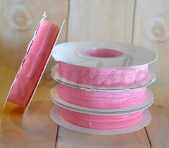 5 Yard Pre-Packaged Roll - Solid Fold Over Elastic - Baby Pink