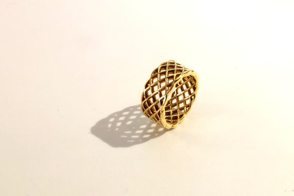 Nordic ring in gold