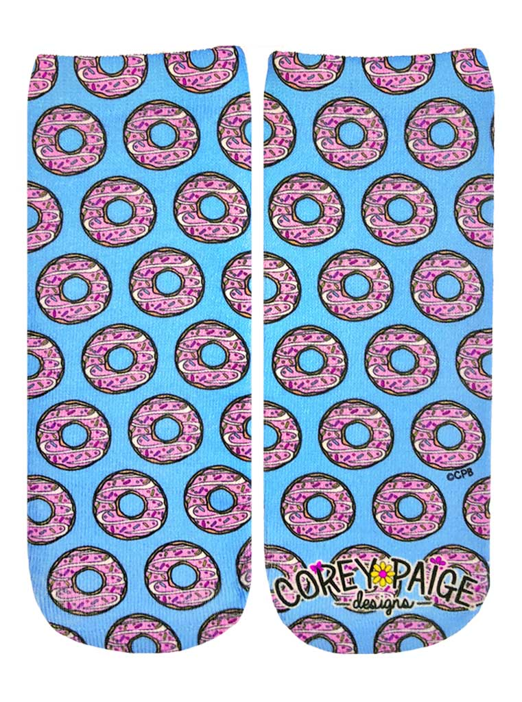 Donut Disturb Ankle Socks