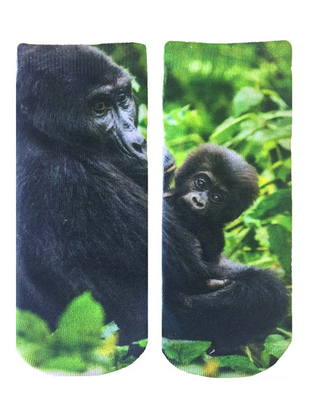 Gorilla Ankle Socks