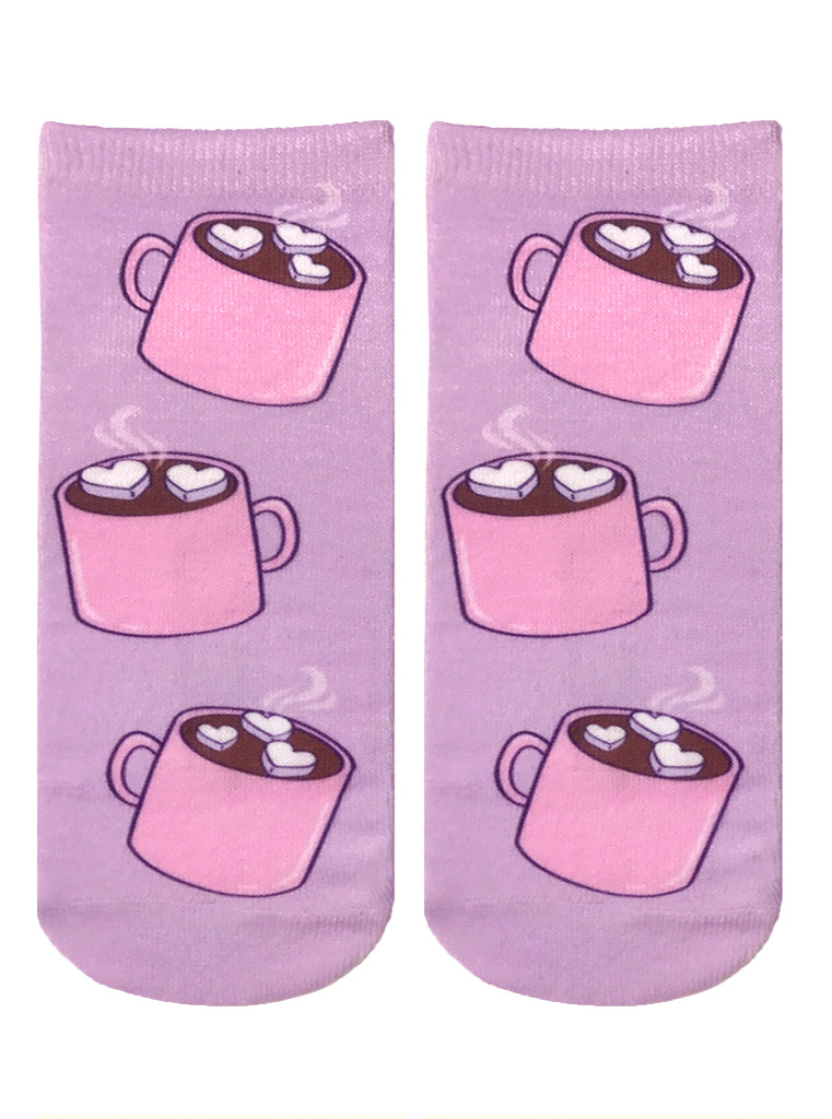Hot Chocolate Ankle Socks