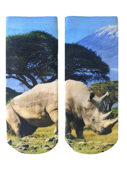 Rhino Ankle Socks