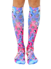 World Religions Knee High Socks