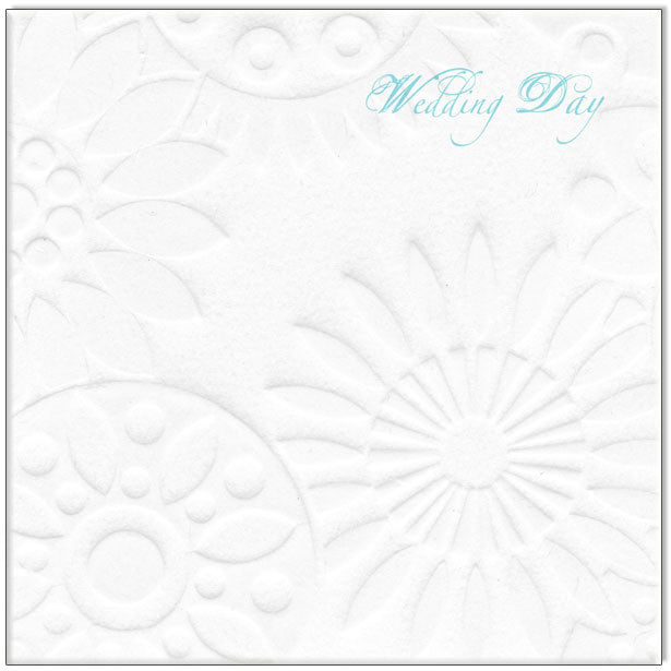 Wedding Card - Wedding Day Blue - Popcorn Street