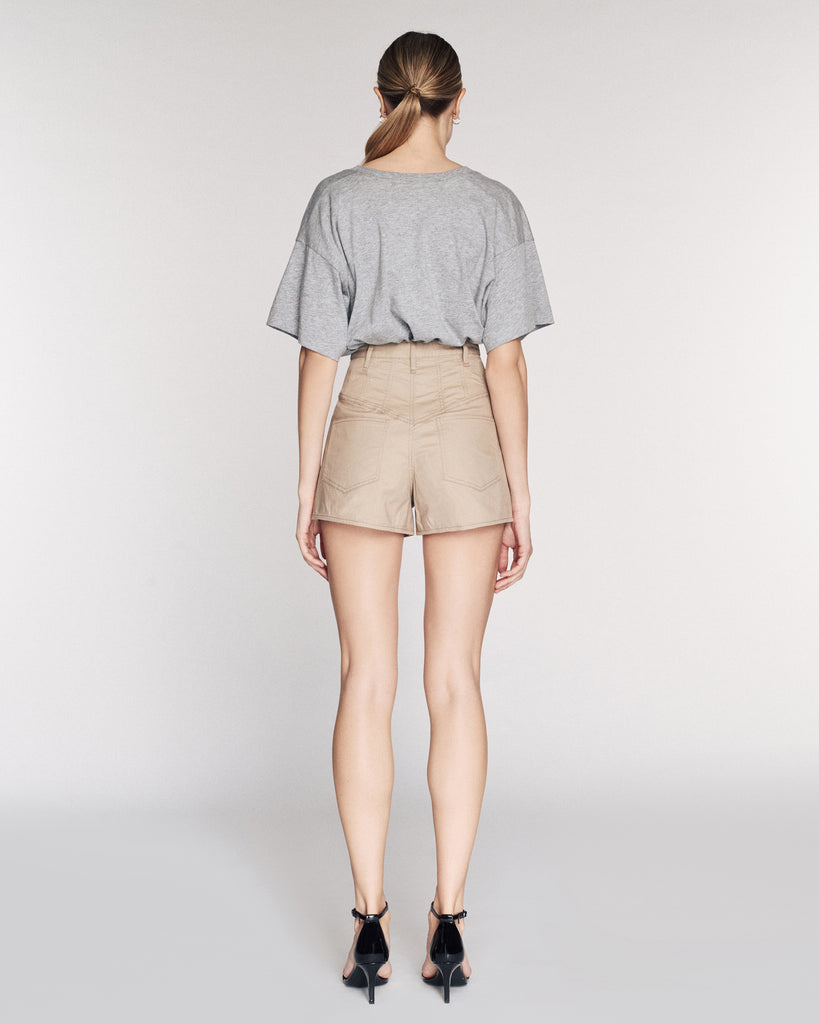Emmaline Lightweight Canvas Shorts