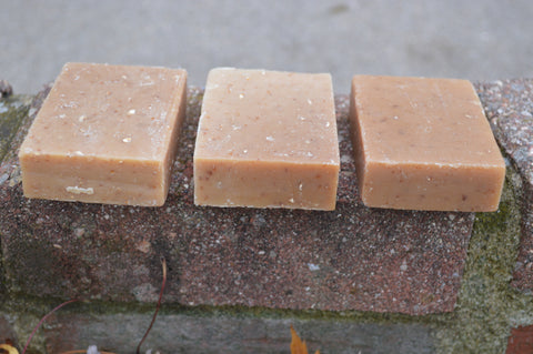 Oatmeal, Honey and Cocoa Butter Soap