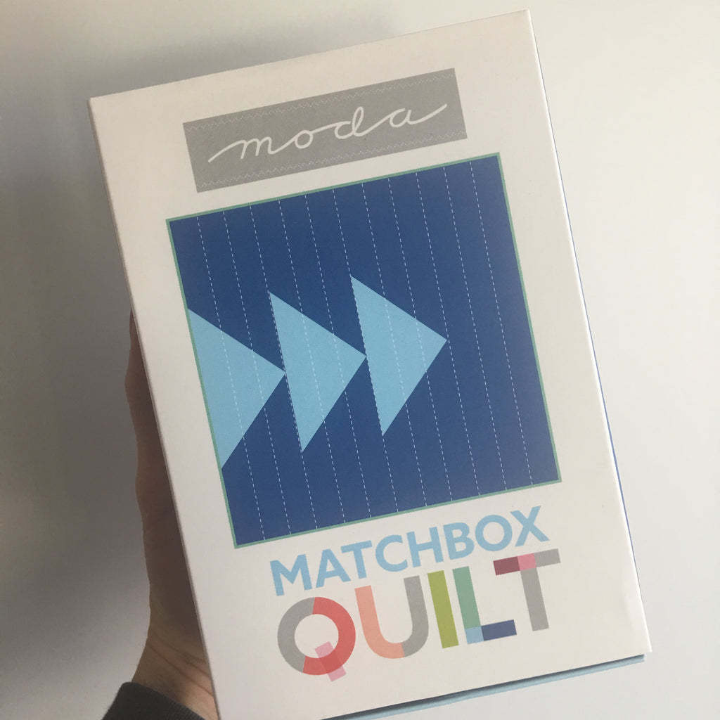 Moda Matchbox Quilt - No. 3 Blue