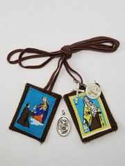 Brown Scapular-package of 3
