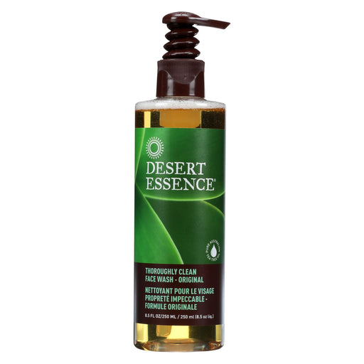 Desert Essence Thoroughly Clean Face Wash - Original - 8.5 Fl Oz