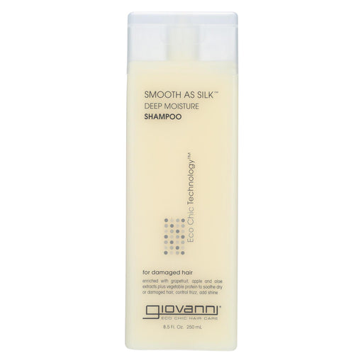 Giovanni Smooth As Silk Deep Moisture Shampoo - 8.5 Fl Oz