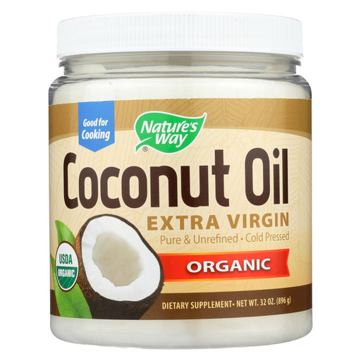Nature's Way Coconut Oil - Extra Virgin - 32 Oz.
