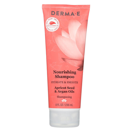 Derma E Shampoo - Hydrate And Smooth - Nourish - 8 Fl Oz