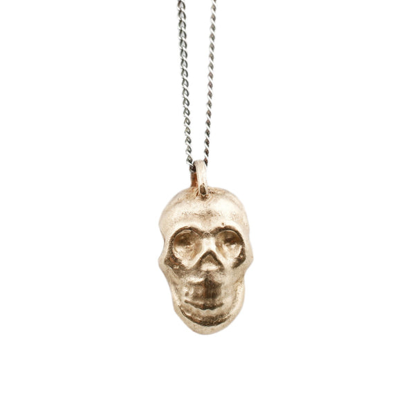 Diego Gold Skull Necklace