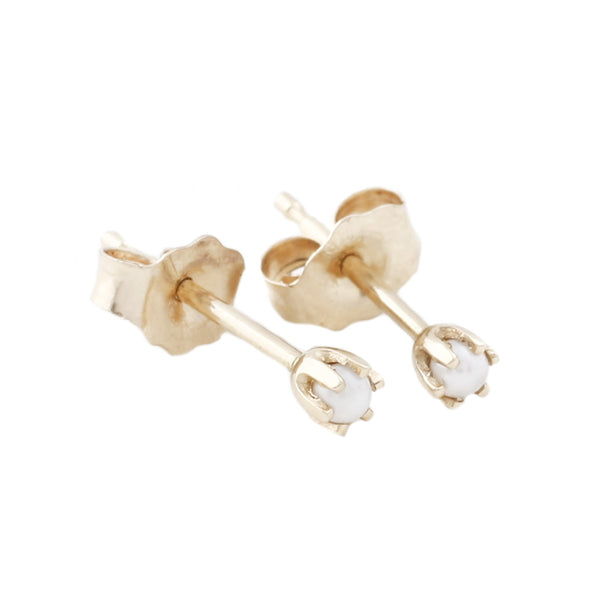 Baby Pearl Studs