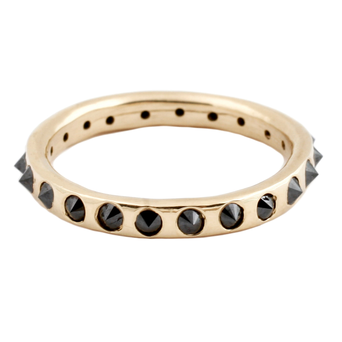 Black Point Up Diamond Eternity Band