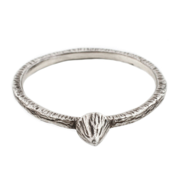 Silver Mini Mountain Ring