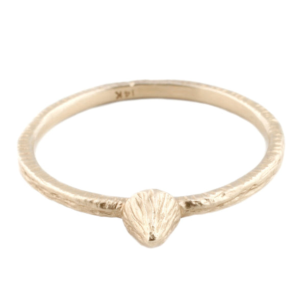 Gold Mini Mountain Ring