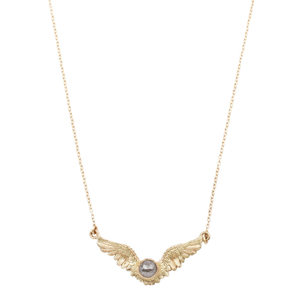 Flying Diamond Necklace