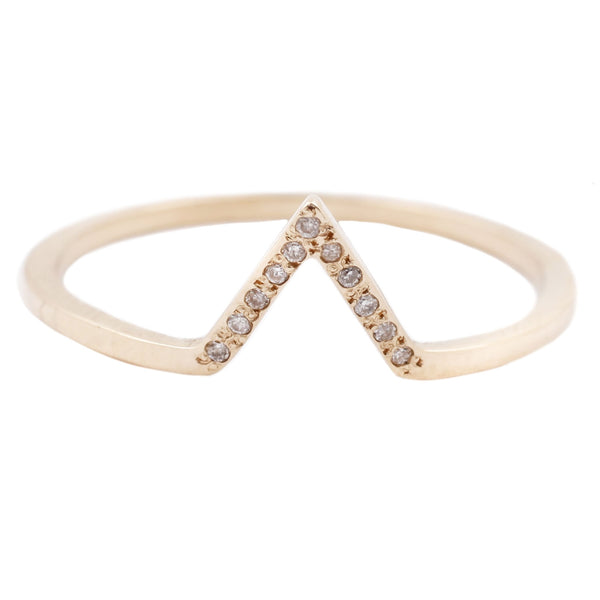 Split Love Nesting Ring