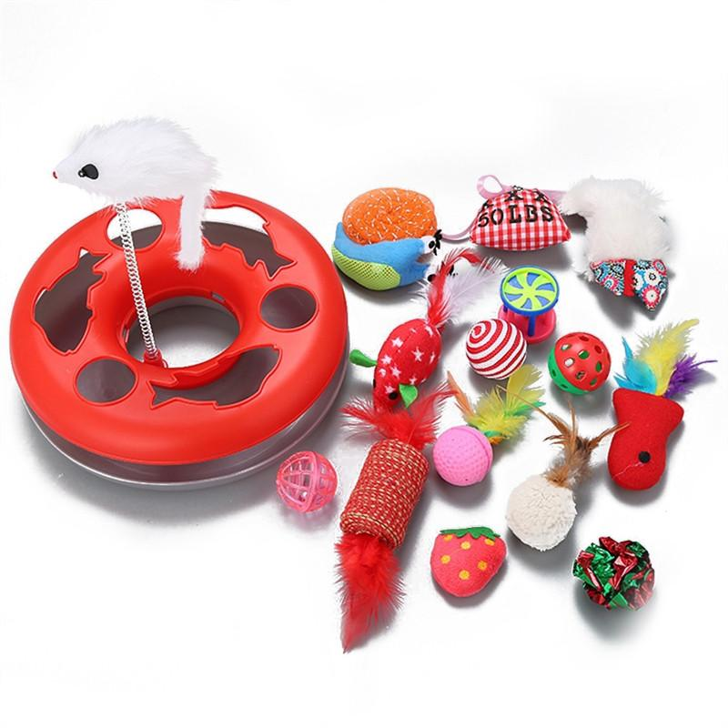 15Pcs Cat Interactive Toy toy PetsWheel Default Title