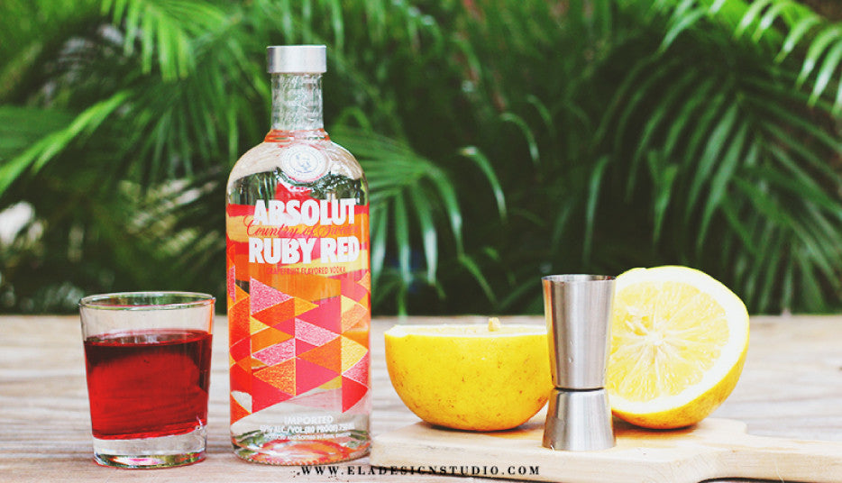 Absolut Ruby Seabreeze
