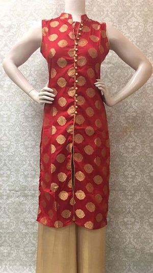 Party Wear Silk Kurta - Sarang
