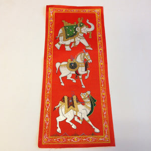 Rajasthani Hand Paintings on Pure Silk