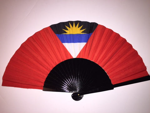 Antigua Barbuda FlagFan