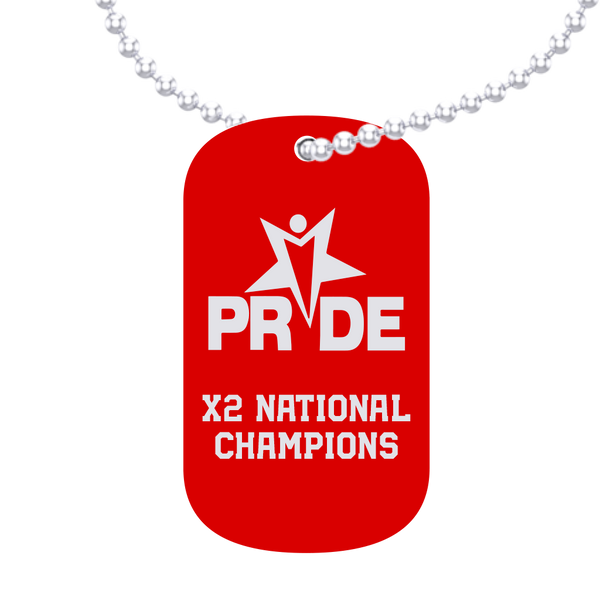 Pride Athletics Dog Tag