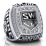 Steamboat Wranglers Ring - Design 1.1