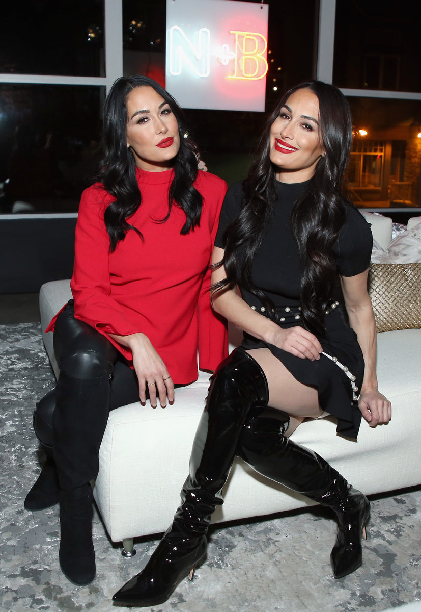 Nicole and Brie at Nicole and Brizee Launch