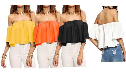 OFF SHOULDER  BARDOT TOP