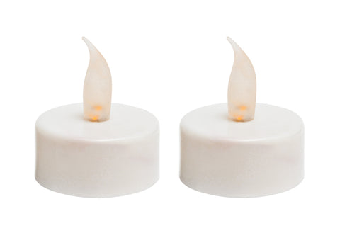 Party Lights - 2 Pack Battery Operated LED Tea Lights