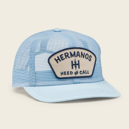 Feedstore Snapback - Light Blue Mesh