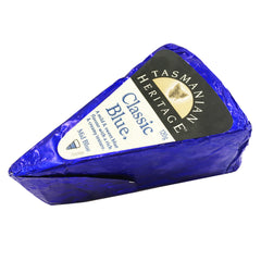 Blue Cheese - Classic Blue - Mild Sweet and Creamy (120g) Tasmanian Heritage