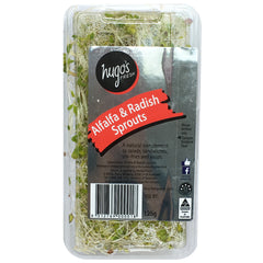 Sprouts - Alfalfa & Radish Sprouts (125g tub)