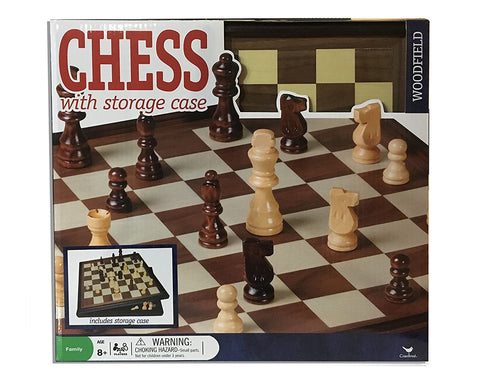 Woodfield Chess with Storage Case