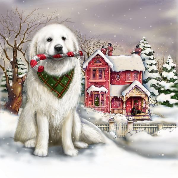 Big dog Christmas  - 10 cards