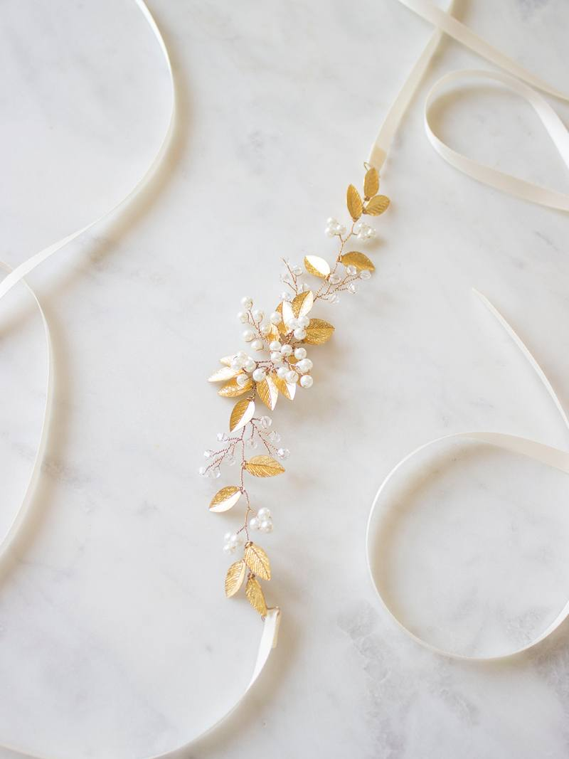 AISLING SASH, Bridal Accessories - Davie & Chiyo, Vancouver