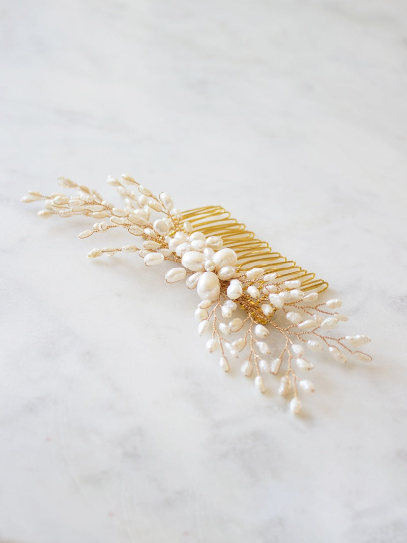 AINE HEADPIECE, Bridal Accessories - Davie & Chiyo, Vancouver