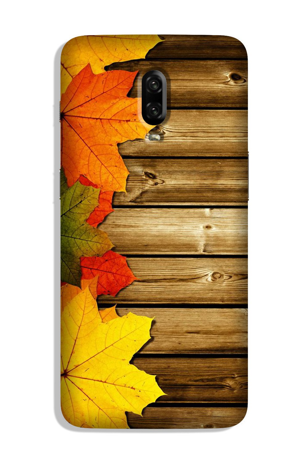 Wooden look3 Case for OnePlus 6T