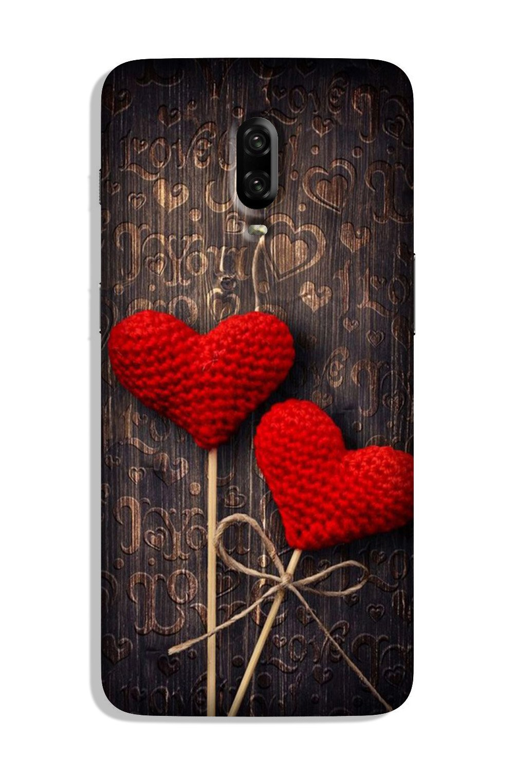 Red Hearts Case for OnePlus 6T