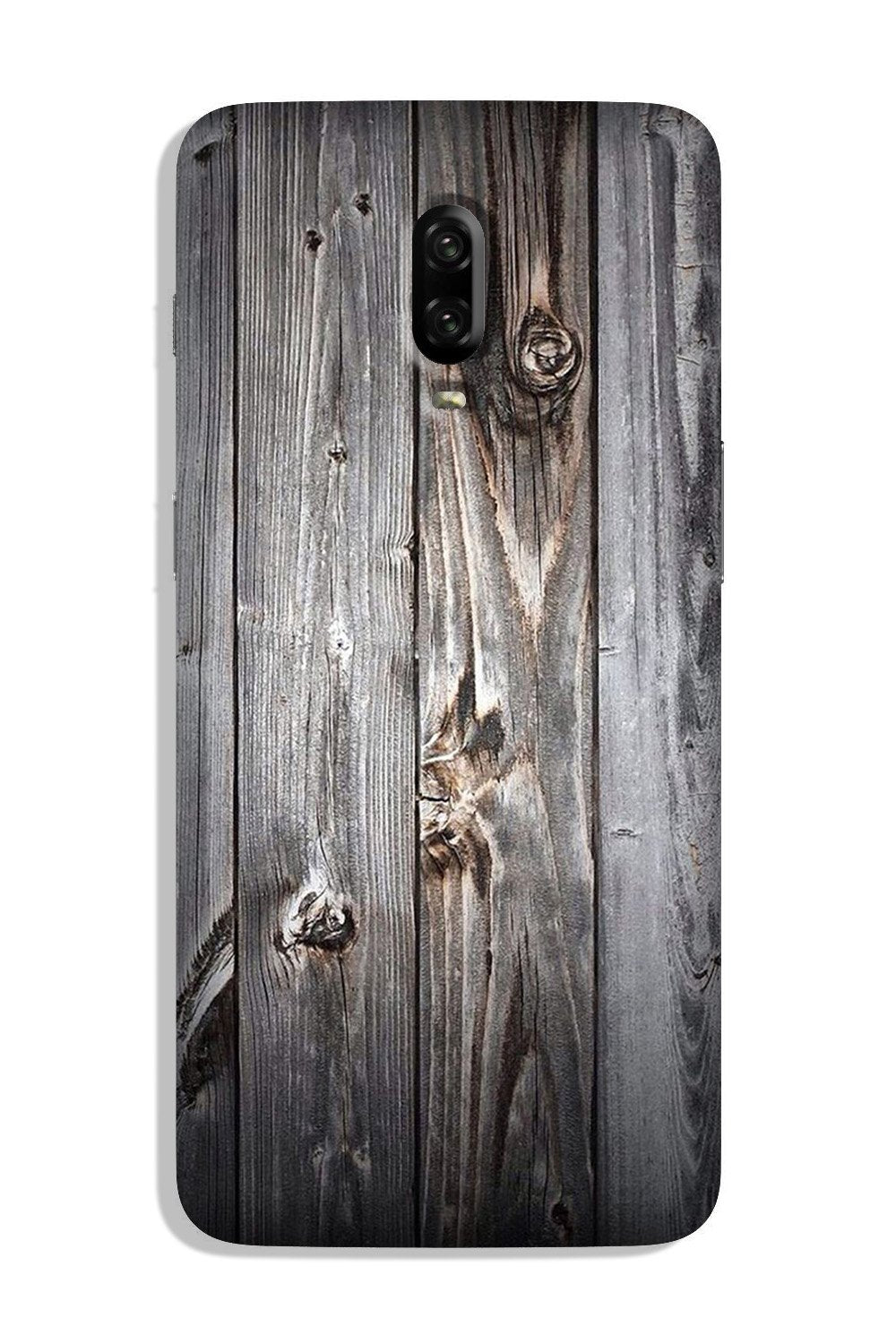 Wooden Look Case for OnePlus 6T  (Design - 114)