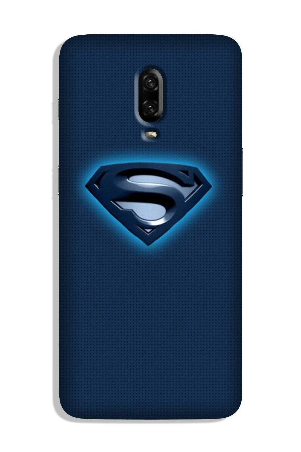 Superman Superhero Case for OnePlus 6T  (Design - 117)